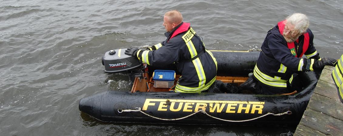 Boot der Feuerwehr Molfsee